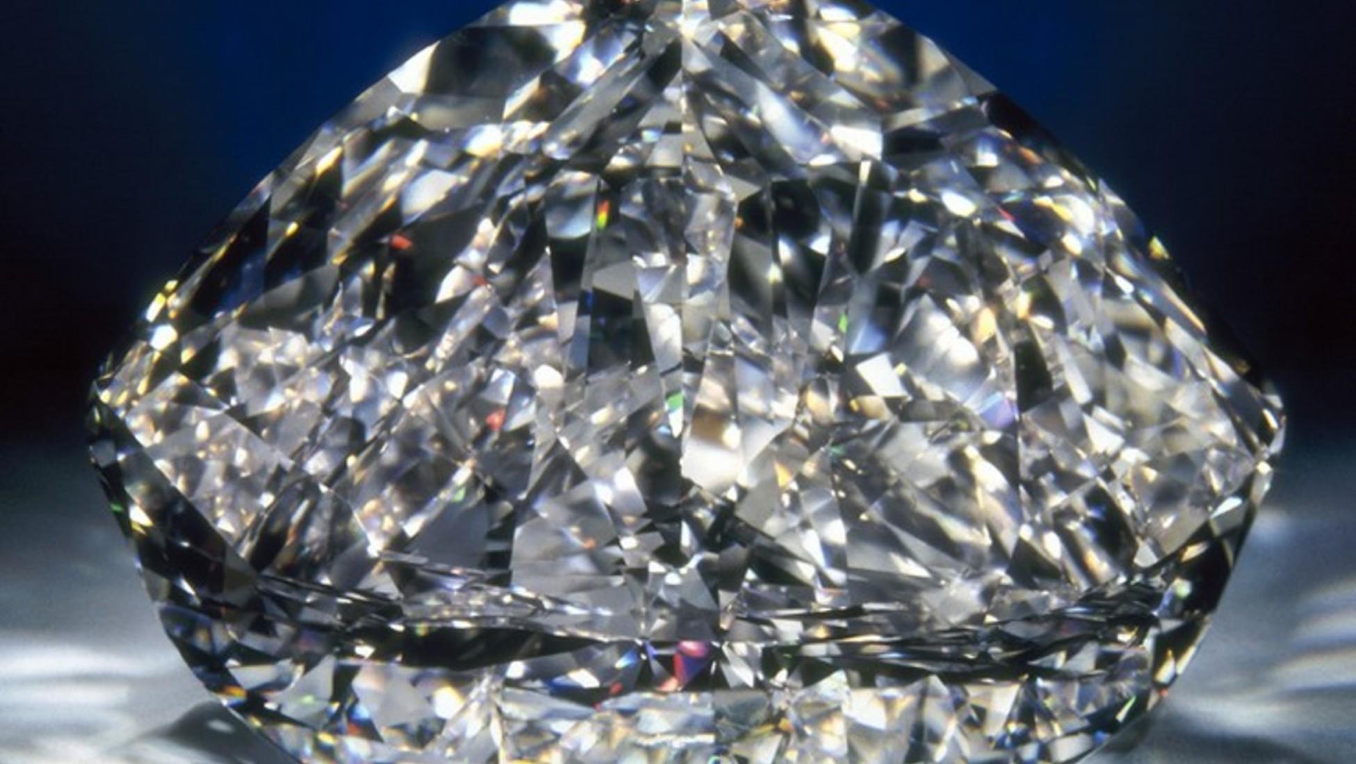 O diamante do centenário de De Beers - 84,2 milhões de euros